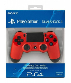 Joystick Ps4 Dualshock 4 Magma Red