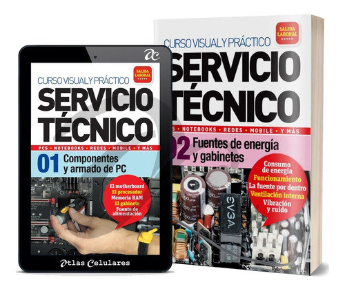 Curso Servicio Tecnico Computadoras Redes Laptops Reparacion