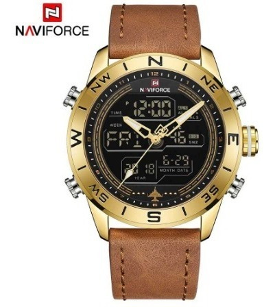 Relógio Naviforce De Aço Prova D