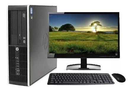 Computador Completo Hp 8200 Sff Core I5-2400 4gb Hd 160gb