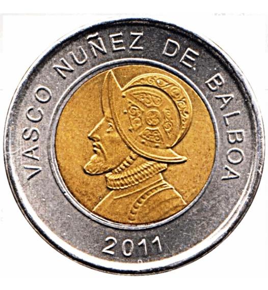 Panamá Moneda Bimetálica Año 2011 - 1 Balboa - Sin Circular