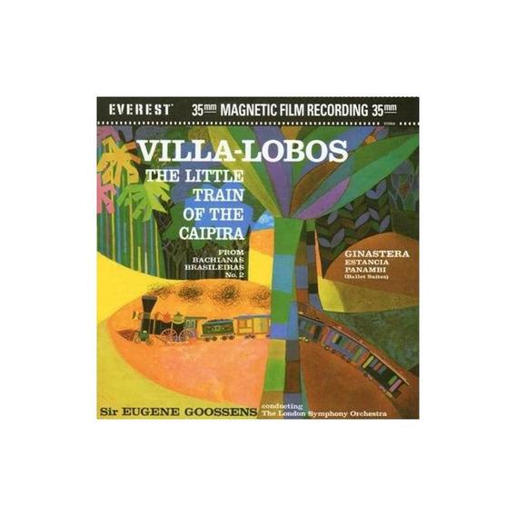 Villa-lobos / Goossens Little Train Of The Caipira Dvd + Cd