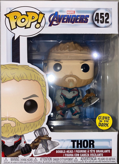 Funko Pop! Avengers: Endgame - Thor #452 Glow In The Dark