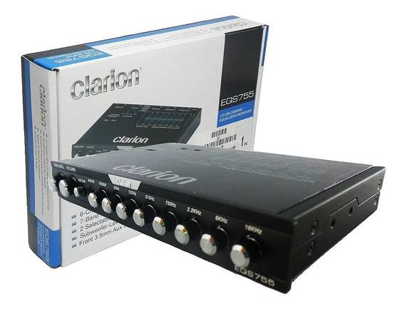 Ecualizador Clarion 7 Bandas Eqs755 Audio Auto