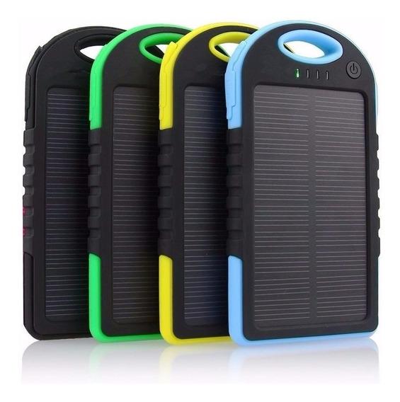 Carregador Celular Solar Usb Portátil Camera Filmadora Gopro