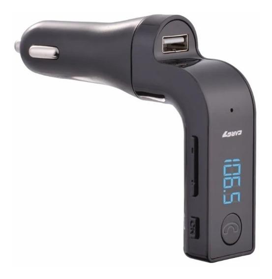 Transmisor Fm Bluetooth Cargador Usb Radio Auto Clicshop