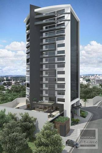 Andar Corporativo À Venda, 410 M² Por R$ 2.670.000 - Edifício Millenia Exclusive Offices - Sorocaba/sp. - Ac0010