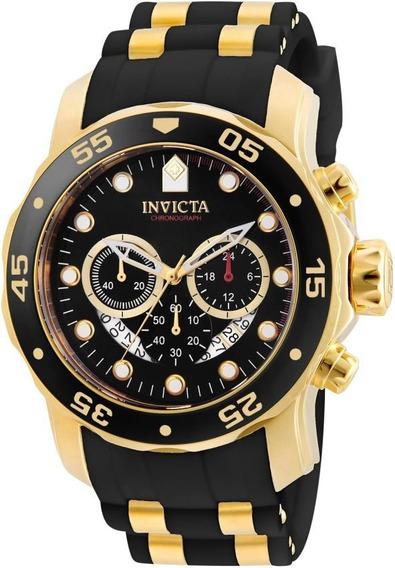 Relógio Invicta Original Cronografo Pro Diver 6981 Nf Gr