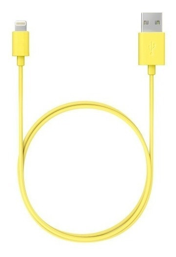 Cable Griffin 90 Cm Lightning Amarillo