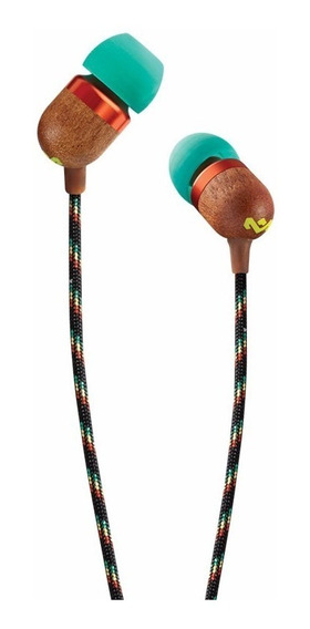 Auriculares House Of Marley Smile Jamaica In Ear Rasta