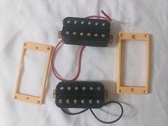 Set Micrófono Para Guitarra ( Mastil Y Puente )