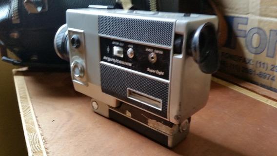 Rara Filmadora Super 8mm Antiga Argus Entrego