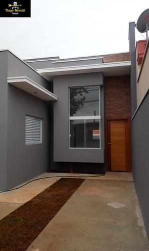 Ótima Casa Nova Jardim Faculdade Em Boituva - Ca00438 - 69343598