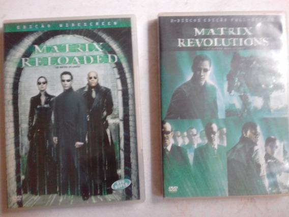 Dvd - Box C/ 2 ( Matrix Revolutions E Reloaded- Duplos Os 2)