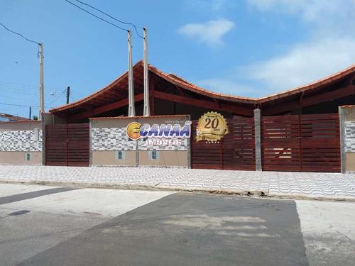 Bela Casa À Venda Em Mongaguá, Ótima Localização!