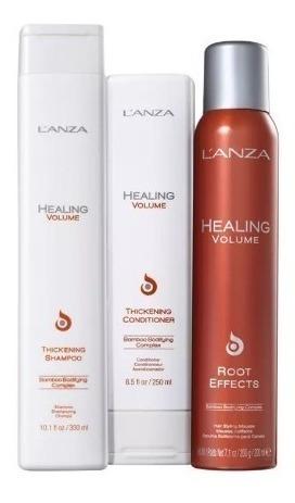 Kit Lanza Healing Volume Root 3 Produtos