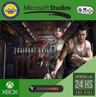 Resident Evil Zero Xbox One Modo Local