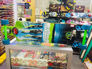 Skate Longboard Sector 9 The Fault Line