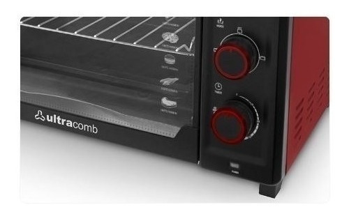Horno Electrico Ultracomb Uc40c 40lts 1600w Grill Cuotas