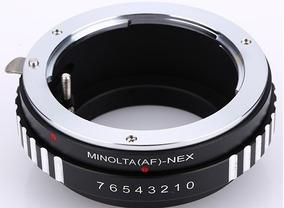 Anel Adaptador Lente Minolta A-mount Af-nex Sony Nex E-mount