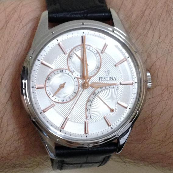 Relógio De Pulso Festina Retro F16974