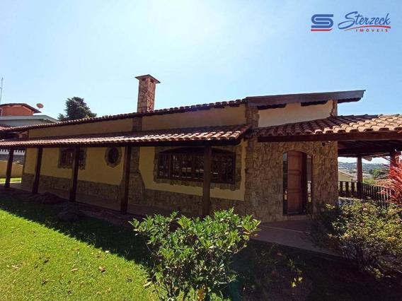 Casa Com 4 Dormitórios Para Alugar, 400 M² Por R$ 3.768,00/mês - Condomínio Vista Alegre - Sede - Vinhedo/sp - Ca1026