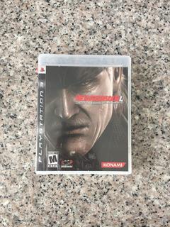 Metal Gear Solid 4 Para Ps3 Original Fisico