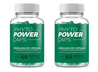 Phytopower Caps Original 2 Potes Termogenico