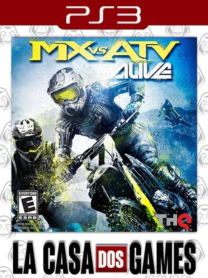 Mx Vs Atv: Alive - Psn Ps3 - Envio Imediato