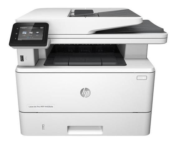 Impressora multifuncional HP LaserJet Pro M426DW com Wi-Fi 110V branca