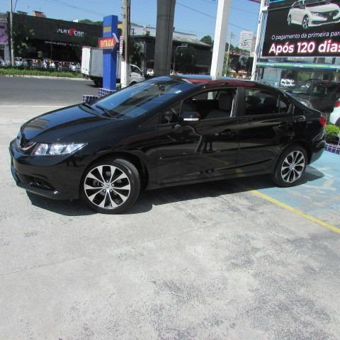 Civic 2.0 Lxr At 2016 Preto