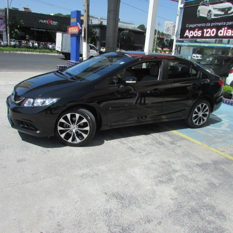 Civic 2.0 Lxr At 2016 Preto