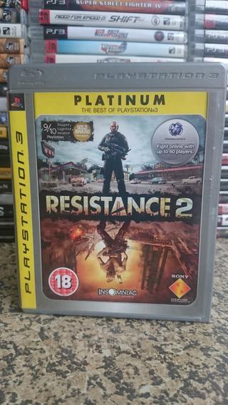 Resistance 2 Platinum Edition Ps3 Midia Fisica-frete R$10