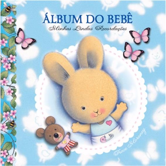 Álbum Do Bebê Minhas Lindas Recordações Cor Azul