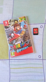 Jogo Mario Odyssey Nintendo Switch