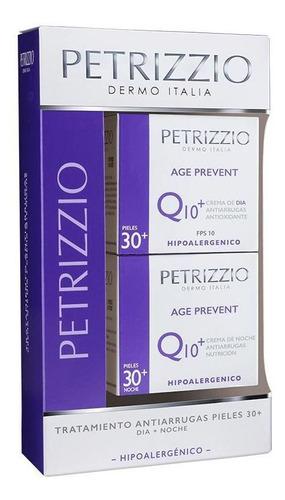 Tratamiento Age Prevent Q10 Dia + Noche Petrizzio Pack