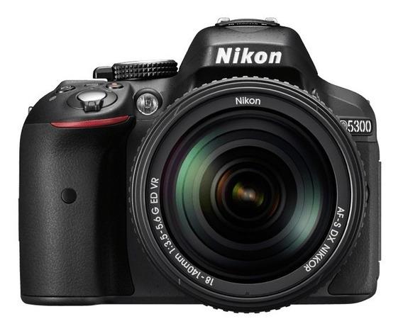 Camara Reflex Nikon Digital D5300 Kit 18-55 Vr Full Hd Hdmi