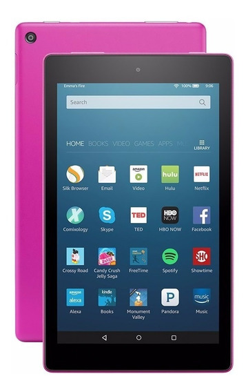 Tablet Kindle Fire Hd8, 8 16gb - Magenta Alexa - Última Unid