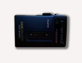Reproductor De Cassette Walkman Sanyo Mgr-703 Nuevo