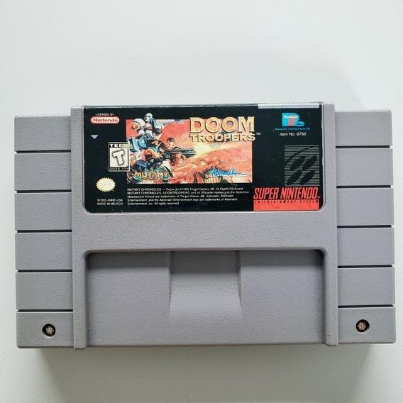 Doom Troopers Original Snes Super Nintendo