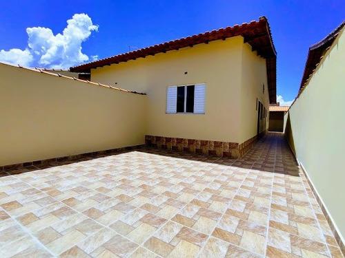 Casa Na Praia, Com Espaço Para Piscina Somente R$210mil Minha Casa Minha Vida Utilize Seu Fgts Whatsapp (13) 98174-2222 - Ca0717