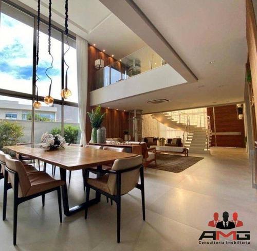 Casa Com 7 Dormitórios À Venda, 827 M² Por R$ 12.800.000,00 - Riviera - Módulo 12 - Bertioga/sp - Ca0986