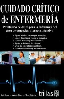 Cuidado Crítico De Enfermería Editorial Trillas