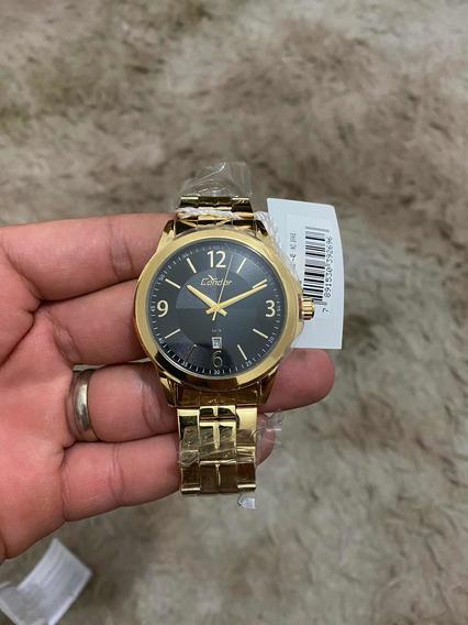 Relógio Condor Dourado Lacrado Documentação Com Nota Fiscal