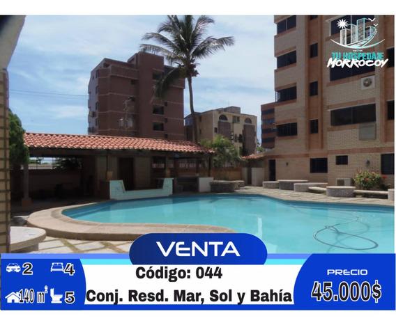 Apartamento Vacacional En Venta En Tucacas Morrocoy Inm-044