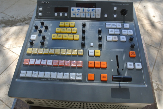 Sony Bvs-3100 Switcher De Video Composto