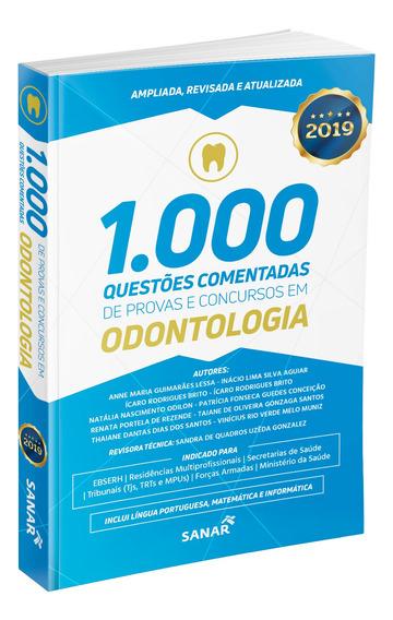 Livro 1.000 Questões Provas E Concursos Em Odontologia 2019