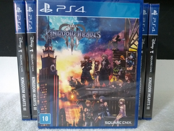 Kingdom Hearts 3 - Ps4 - Lacrado - Pronta Entrega