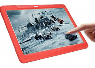 Funda Tableta Silicon Universal 7 Roja