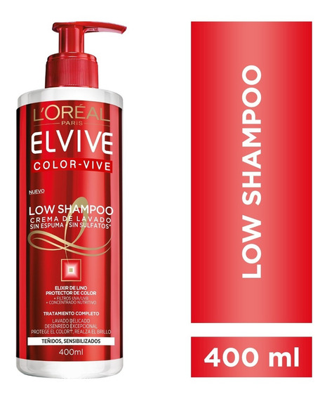 Crema De Limpieza Color Vive Elvive L´oréal Paris X 400 Ml